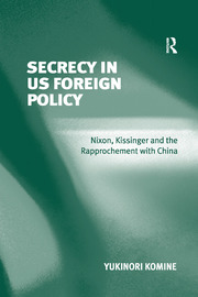 Secrecy in US Foreign Policy - 1st Edition book cover