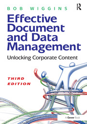 Effective Document and Data Management - 3rd Edition book cover