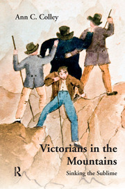 Victorians in the Mountains - 1st Edition book cover