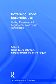 Governing Global Desertification - 1st Edition book cover