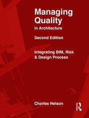 Managing Quality in Architecture - 2nd Edition book cover