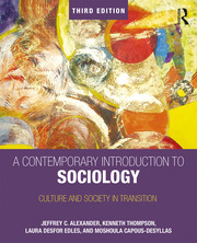 A Contemporary Introduction to Sociology : Culture and Society in Transition - 3rd Edition book cover