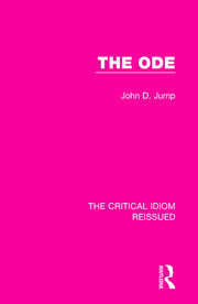 The Ode - 1st Edition book cover