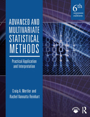 Advanced and Multivariate Statistical Methods - 6th Edition book cover