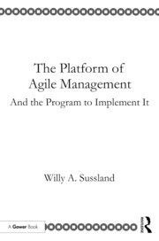The Platform of Agile Management - 1st Edition book cover