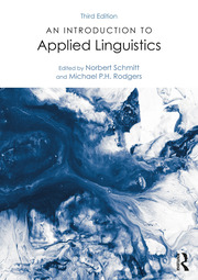 An Introduction to Applied Linguistics - 3rd Edition book cover