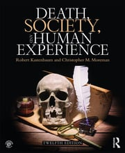 Death, Society, and Human Experience - 12th Edition book cover