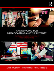 Announcing for Broadcasting and the Internet - 1st Edition book cover