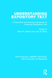 Understanding Expository Text - 1st Edition book cover