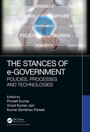 The Stances of e-Government - 1st Edition book cover