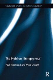 The Habitual Entrepreneur - 1st Edition book cover