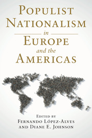 Populist Nationalism in Europe and the Americas - 1st Edition book cover