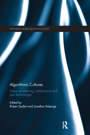 Algorithmic Cultures - 1st Edition book cover