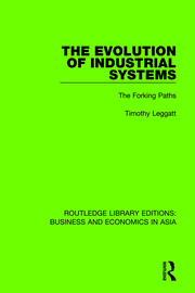The Evolution of Industrial Systems: The Forking Paths