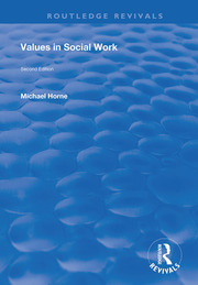 Values in Social Work -  1st Edition book cover