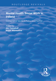 Mental Health Social Work in Ireland -  1st Edition book cover