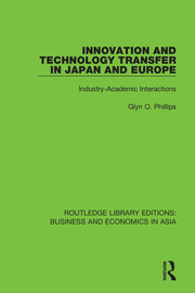 Innovation and Technology Transfer in Japan and Europe: Industry-Academic Interactions