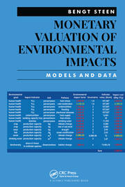 Monetary Valuation of Environmental Impacts - 1st Edition book cover