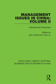 Management Issues in China: Volume 2 - 1st Edition book cover