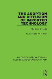 The Adoption and Diffusion of Imported Technology: The Case of Korea