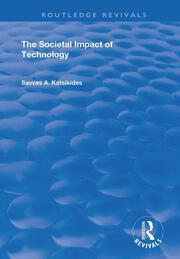 The Societal Impact of Technology -  1st Edition book cover