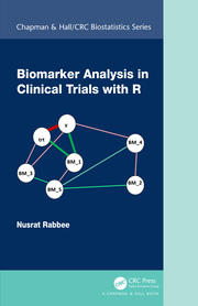 Biomarker Analysis in Clinical Trials with R - 1st Edition book cover