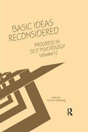 Progress in Self Psychology, V. 12 - 1st Edition book cover