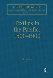 Textiles in the Pacific, 1500–1900 - 1st Edition book cover