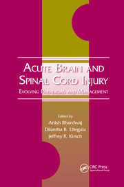 Acute Brain and Spinal Cord Injury - 1st Edition book cover