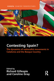 Contesting Spain? The Dynamics of Nationalist Movements in Catalonia and the Basque Country - 1st Edition book cover