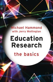Education Research: The Basics - 1st Edition book cover