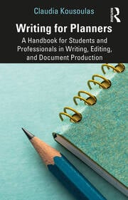 Writing for Planners : A Handbook for Students and Professionals in Writing, Editing, and Document Production - 1st Edition book cover