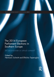 The 2014 European Parliament Elections in Southern Europe - 1st Edition book cover