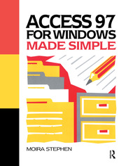 Access 97 for Windows Made Simple - 1st Edition book cover