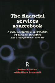 The Financial Services Sourcebook - 1st Edition book cover