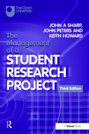The Management of a Student Research Project - 3rd Edition book cover