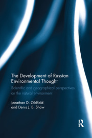The Development of Russian Environmental Thought - 1st Edition book cover