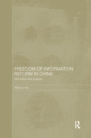 Freedom of Information Reform in China - 1st Edition book cover