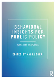 Behavioral Insights for Public Policy - 1st Edition book cover