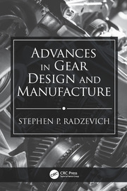 Advances in Gear Design and Manufacture - 1st Edition book cover