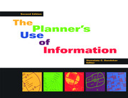 Planner's Use of Information 2nd ed. - 1st Edition book cover