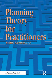 Planning Theory for Practitioners - 1st Edition book cover