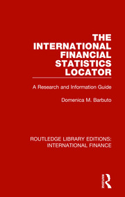 The International Financial Statistics Locator - 1st Edition book cover