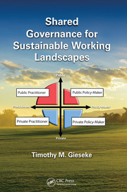 Shared Governance for Sustainable Working Landscapes -  1st Edition book cover