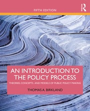 An Introduction to the Policy Process - 5th Edition book cover