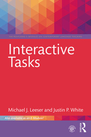 Interactive Tasks - 1st Edition book cover