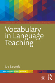 Vocabulary in Language Teaching - 1st Edition book cover