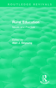 Rural Education (1991) - 1st Edition book cover