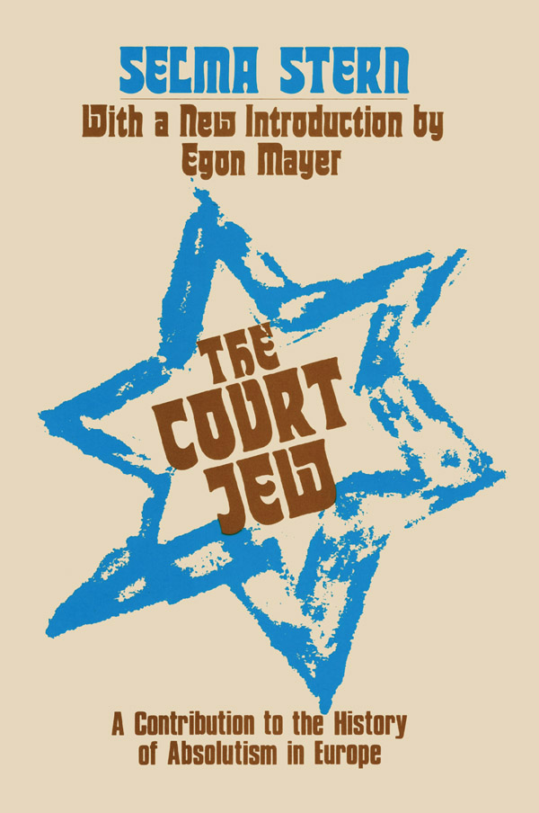 Court Jew - 1st Edition book cover