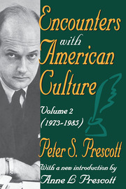 Encounters with American Culture - 1st Edition book cover